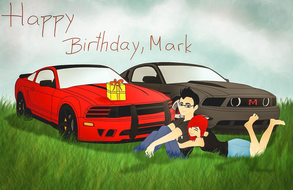 Happy Birthday, Mark! by CynderxNero