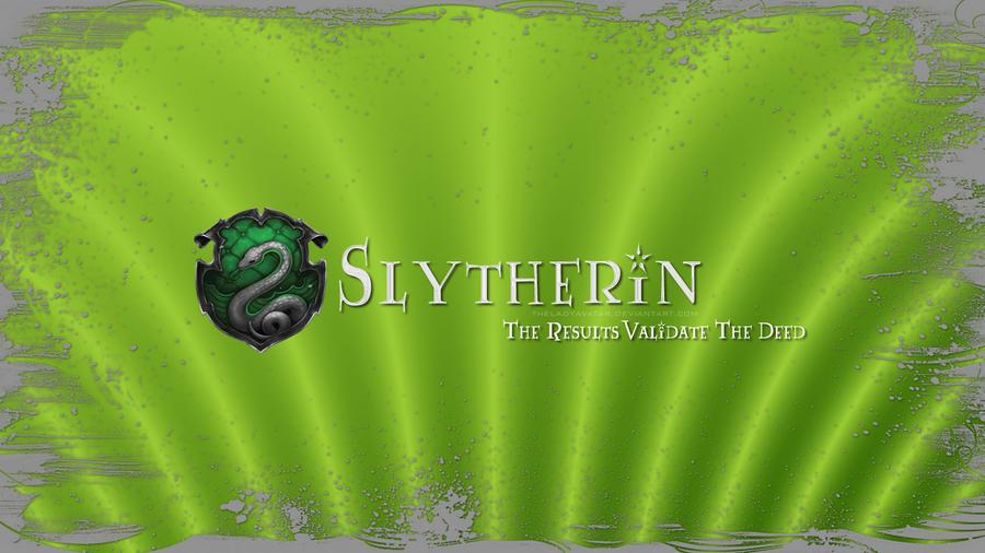 Hogwarts House Wallpaper : Slytherin by TheLadyAvatar