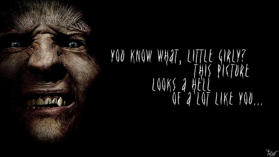 Harry Potter Wallpaper Greyback Quote V4 By