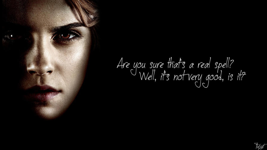 Harry Potter Wallpaper Harry Potter Quotes Hermione