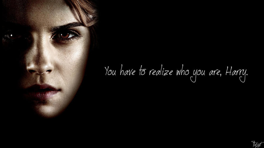 Harry Potter Wallpaper Hermione Quote V5 By TheLadyAvatar