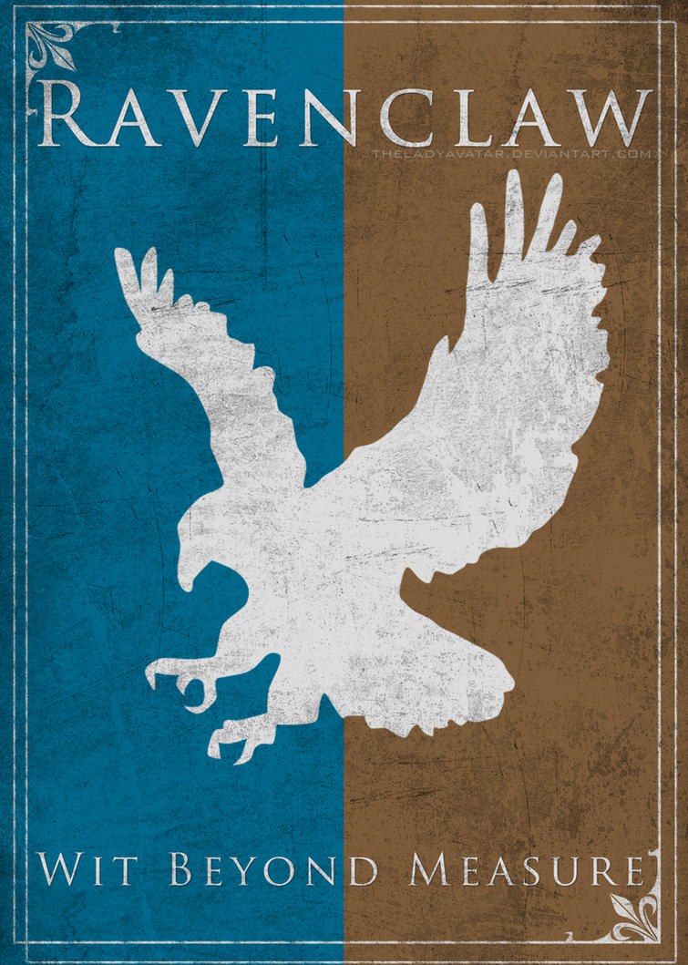 Game of Thrones Style Ravenclaw Banner by TheLadyAvatar on DeviantArt