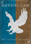 Game of Thrones Style Ravenclaw Banner