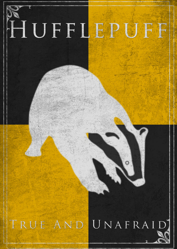 Game of Thrones Style Hufflepuff Banner by TheLadyAvatar