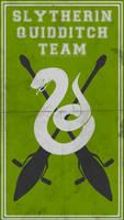 Quidditch Team Poster: Slytherin by TheLadyAvatar