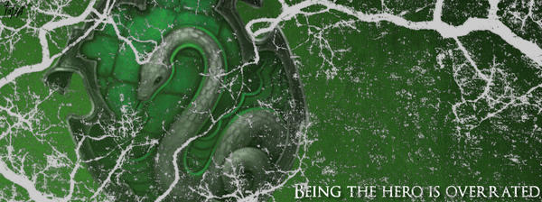 Facebook Cover: Slytherin by TheLadyAvatar on DeviantArt