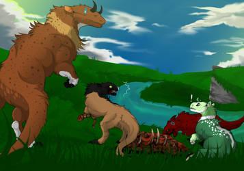 Sibling Rivalry by nigrum-ferro
