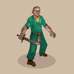 Swordsman by mjarlet