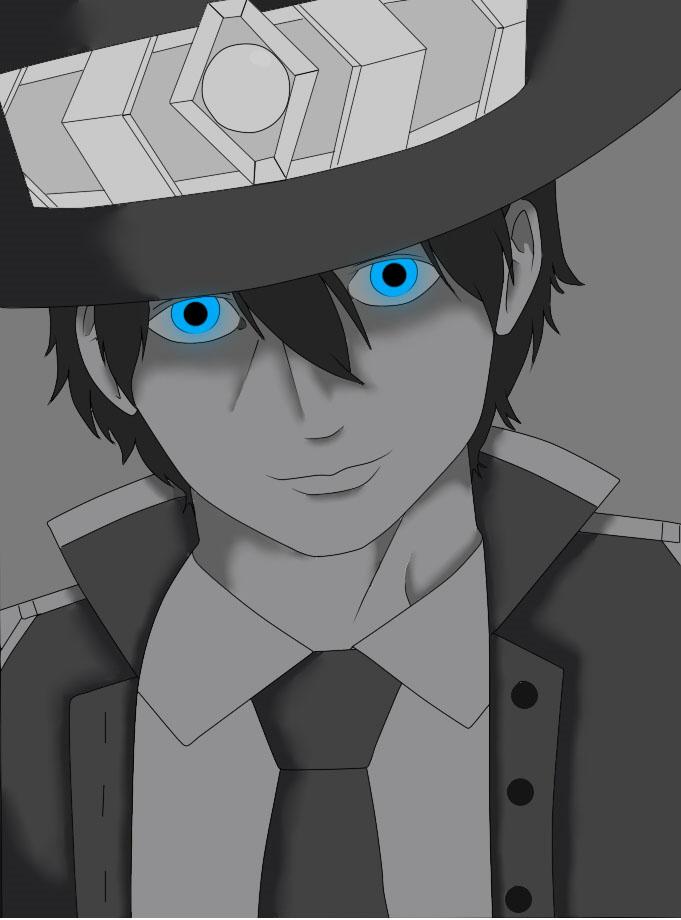 Aquel de los ojos azules. by angelkof14