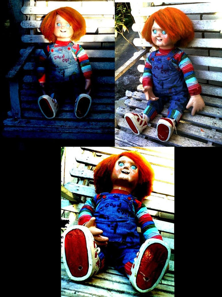 Homemade Chucky Doll Complete By ScribbleNscratch