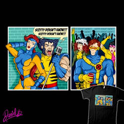 Clueless Scotty T-Shirt