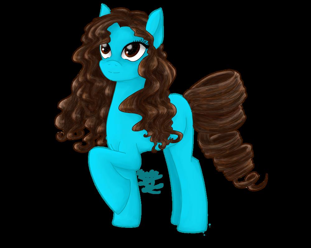 Pony style by TehIzzy