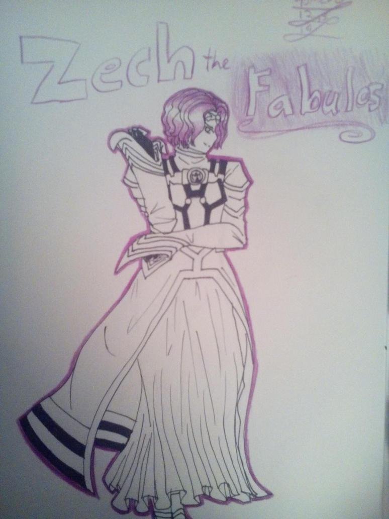 Art trade: Zech by TehIzzy