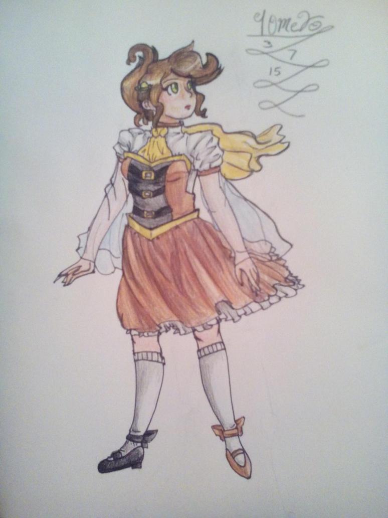 Fantine fanart by TehIzzy
