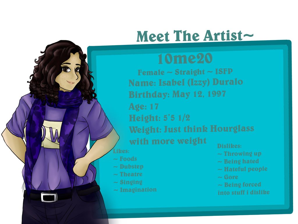 Meet the Artist: 10me20 by TehIzzy