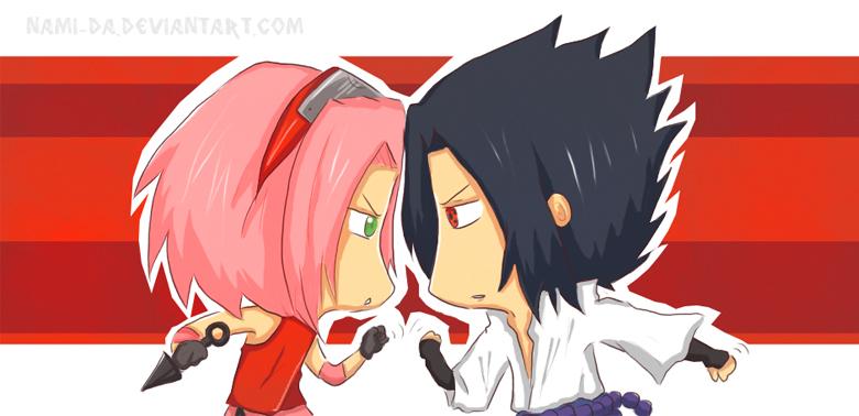 Sakura vs sasuke 2 by nyuhatter on deviantart sakura vs sasuke by nami da altavistaventures Gallery