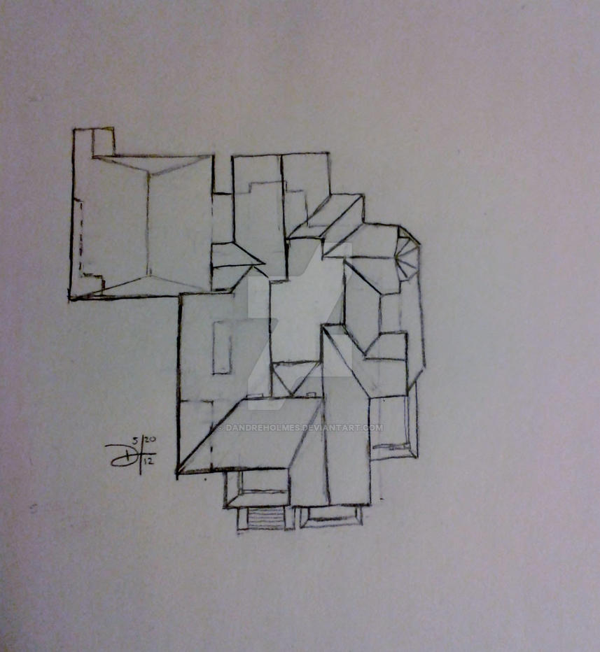 Halliwell Manor Floor Plan Assemblage By Dandreholmes On
