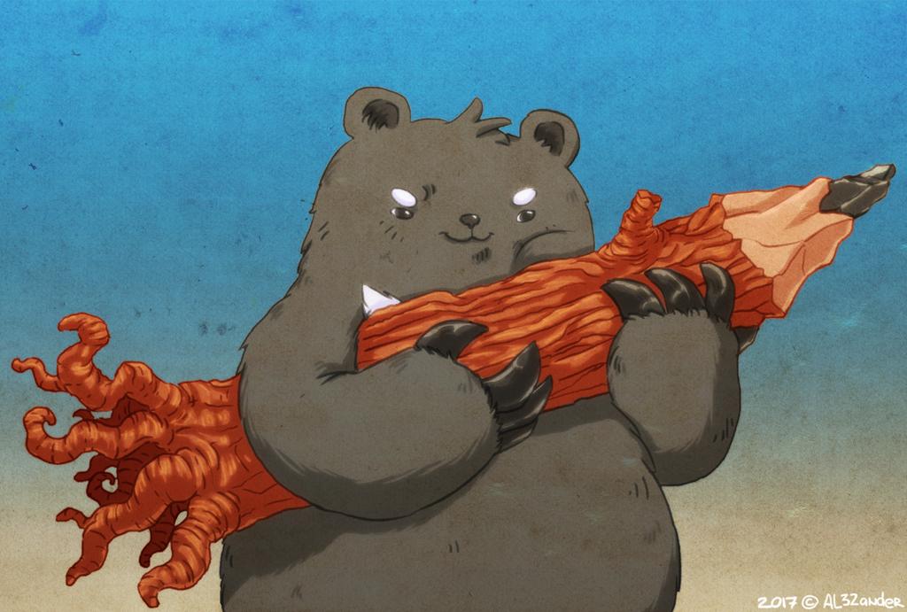 Bear with hiatus! by AL32ander