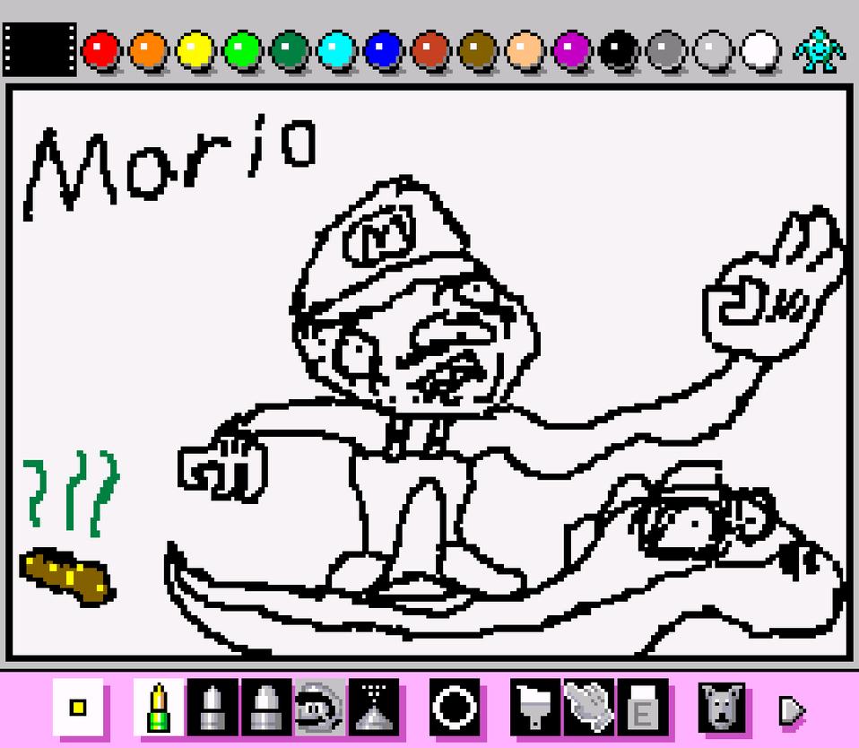 Mario by chegg1