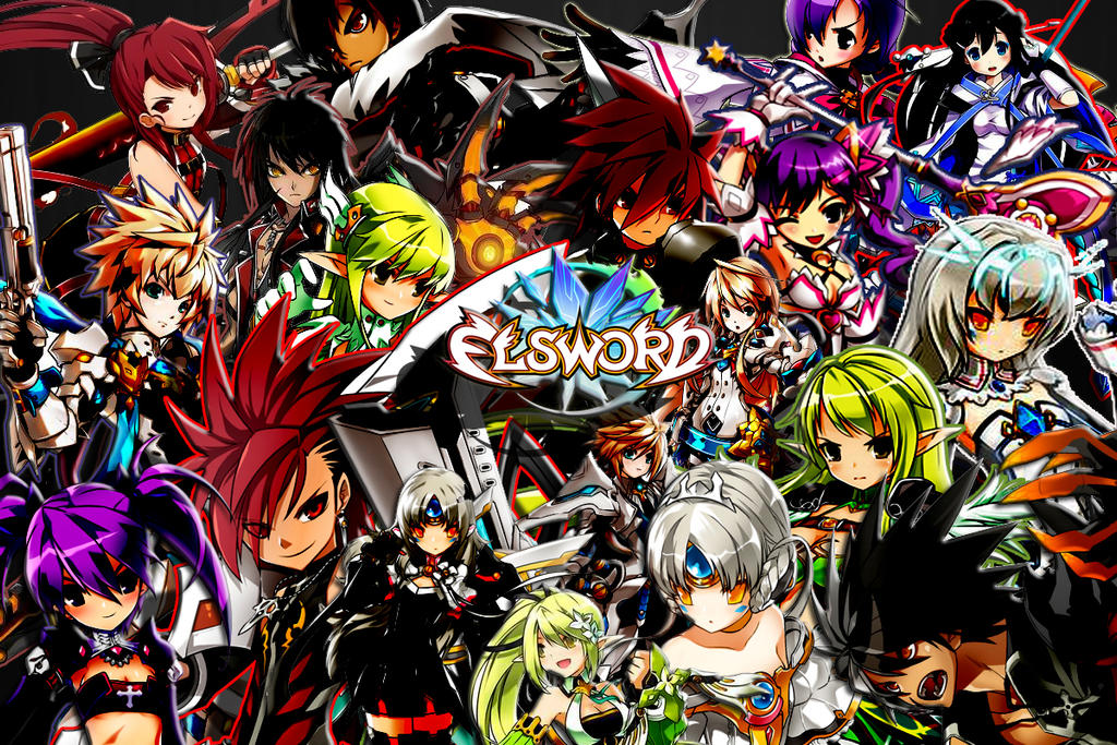Anime Characters With Jobs : Elsword group gaming talk fuwanovel forums