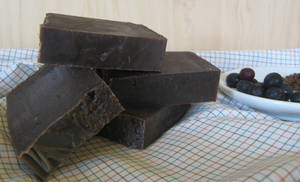 Blueberry Chocolate Soap