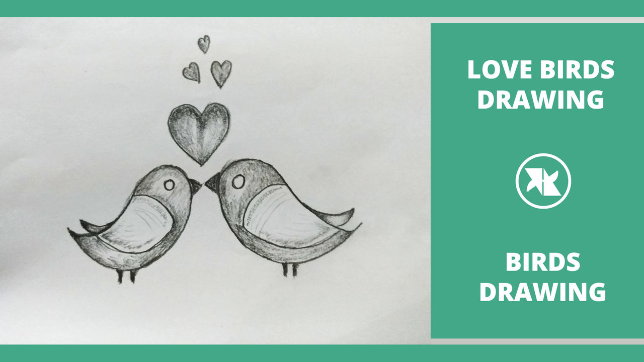 How To Draw Love Birds In Love By Mlspcart On Deviantart