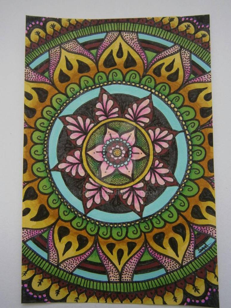 ombre mandala wallpaper - photo #5