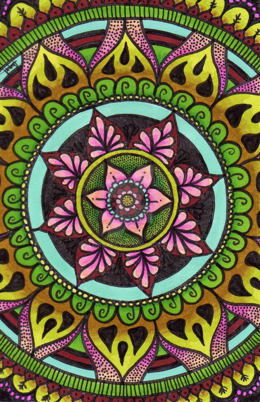 ombre mandala wallpaper - photo #22