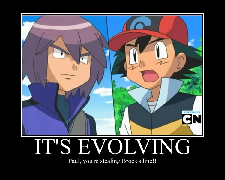 Motivational Poster- It's evolving by Fran48