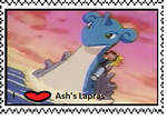 Ash's Lapras fan stamp