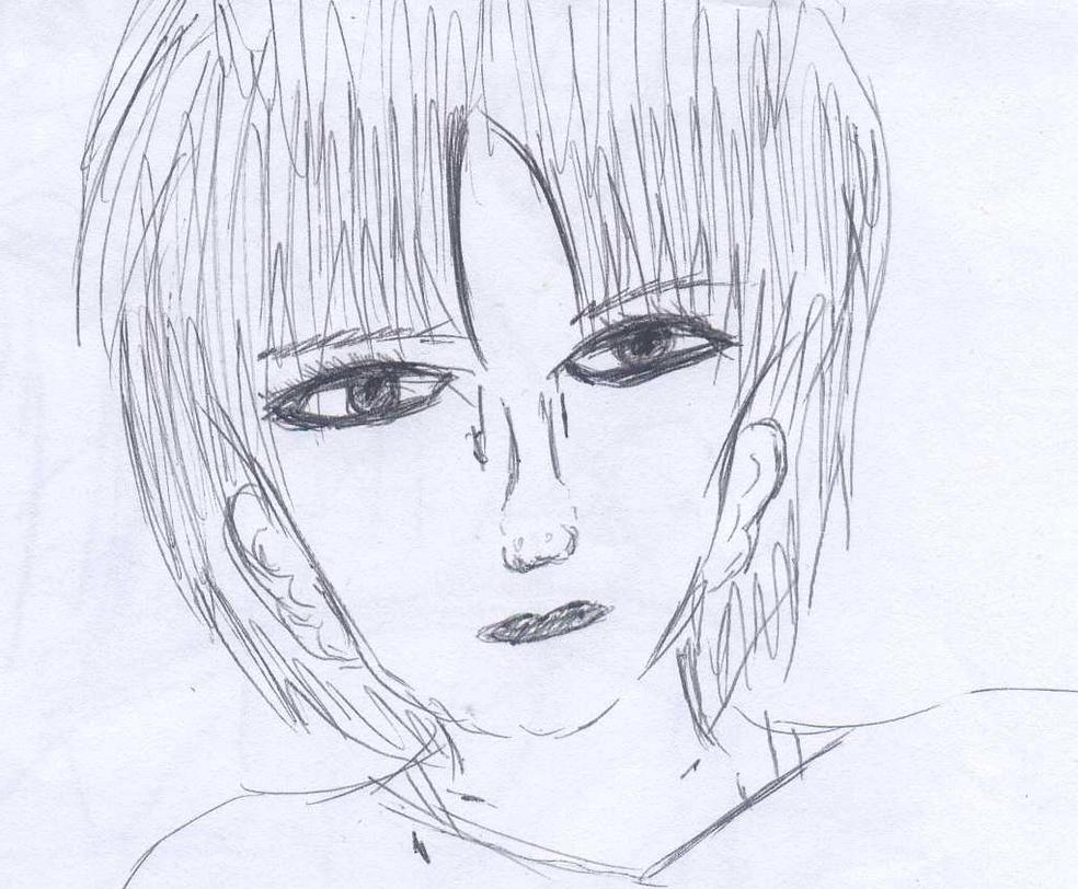Semi realistic lady XD by Fran48