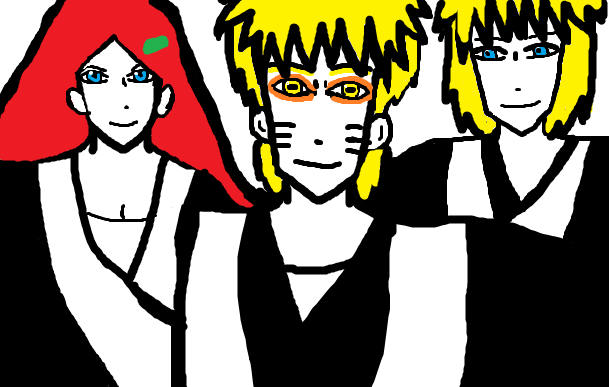Uzumaki family- Soul reaper captains by Fran48