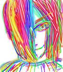 Rainbow Nagato:3 by Fran48