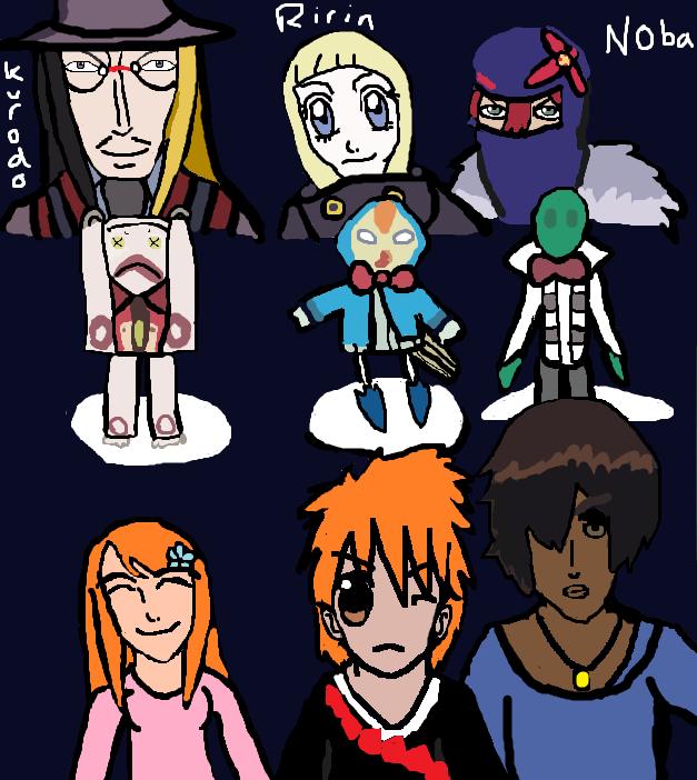 The Mod souls - Bleach Bount arc:3 by Fran48 on DeviantArt