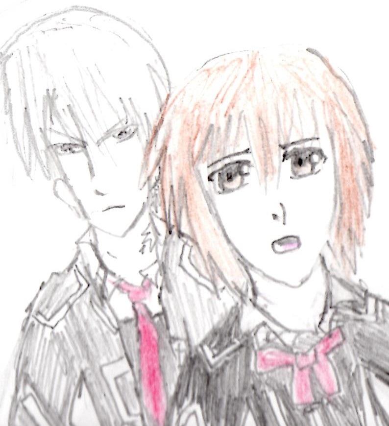 Zeki sketch vampire Knight by Fran48