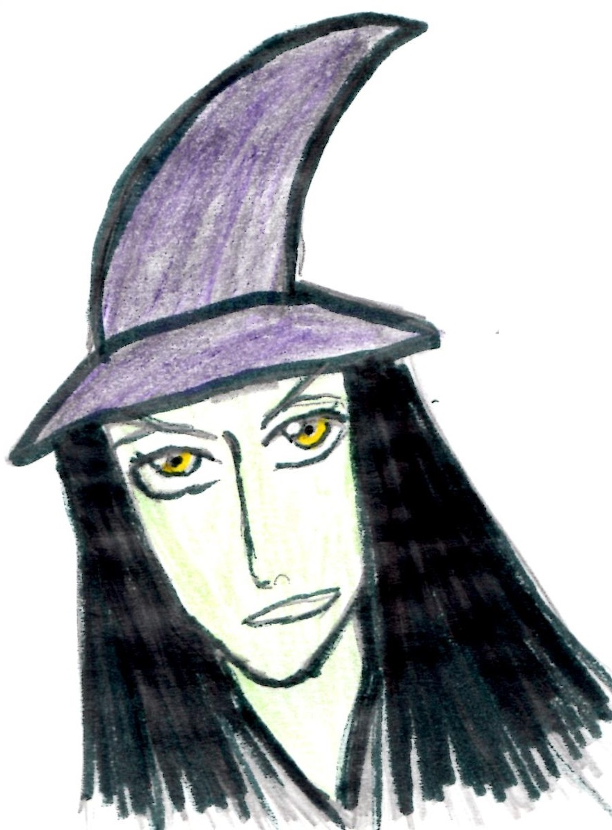 Witch:)-In bleach style by Fran48