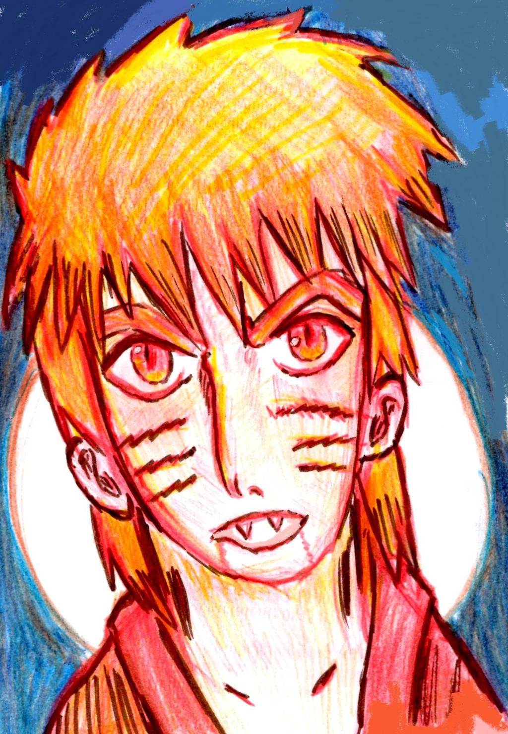 Demon -Uzumaki Naruto by Fran48