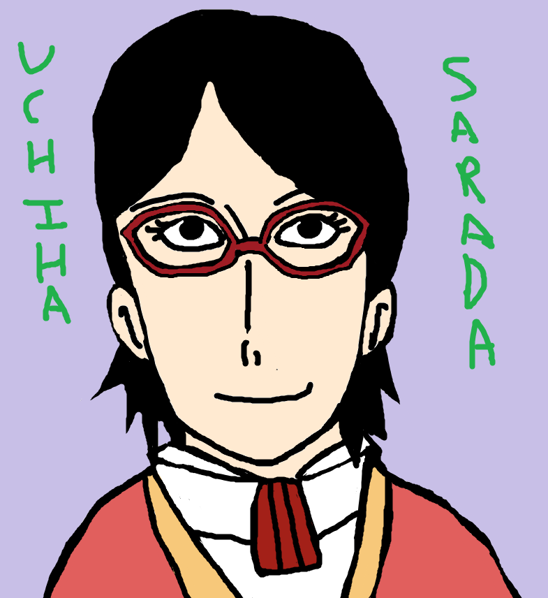 Sarada Uchiha by Fran48