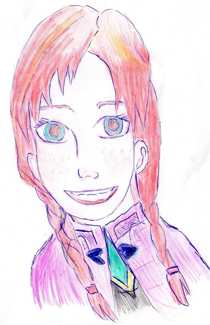 Anna From Frozen by Fran48