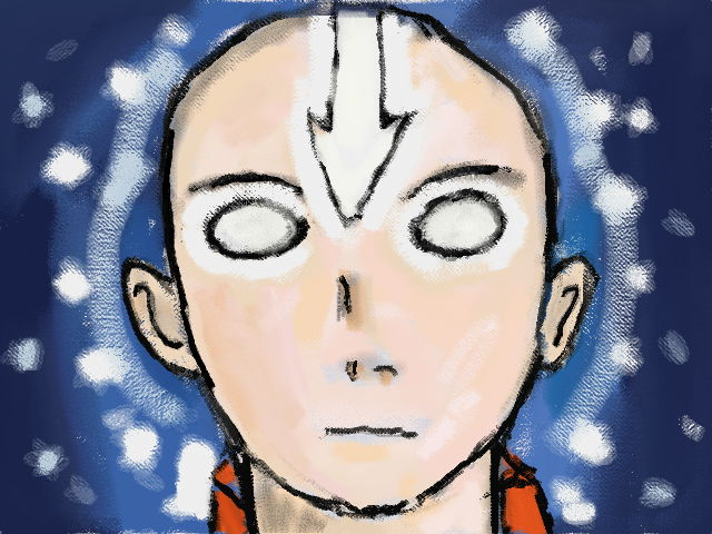 Avatar State-Avatar Aang by Fran48