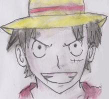 Monkey D Luffy-Timeskip by Fran48