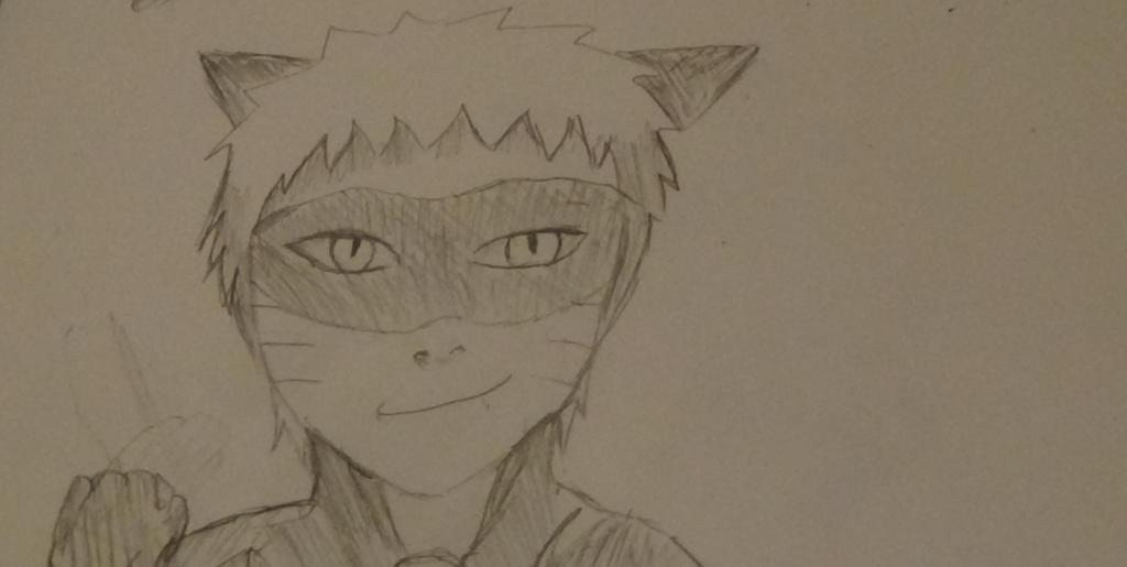 Naruto as Cat Noir by Fran48