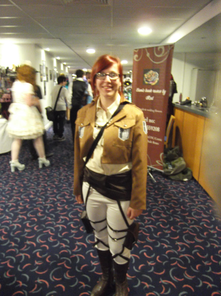 Zoe Hanji cosplayer-Sunnycon 2017 by Fran48
