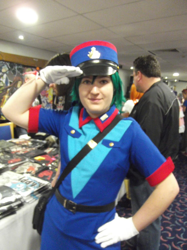 Officer Jenny cosplay-Sunnycon 2017 by Fran48