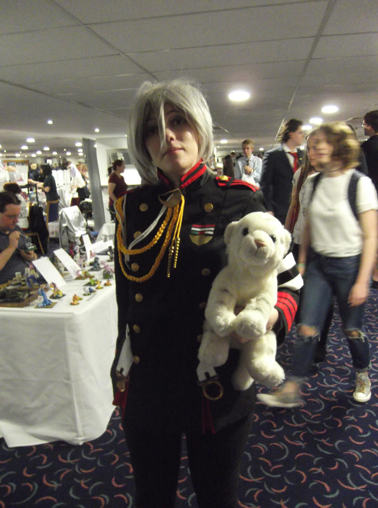 Shinya Hiragi cosplay -Sunnycon 2017 by Fran48