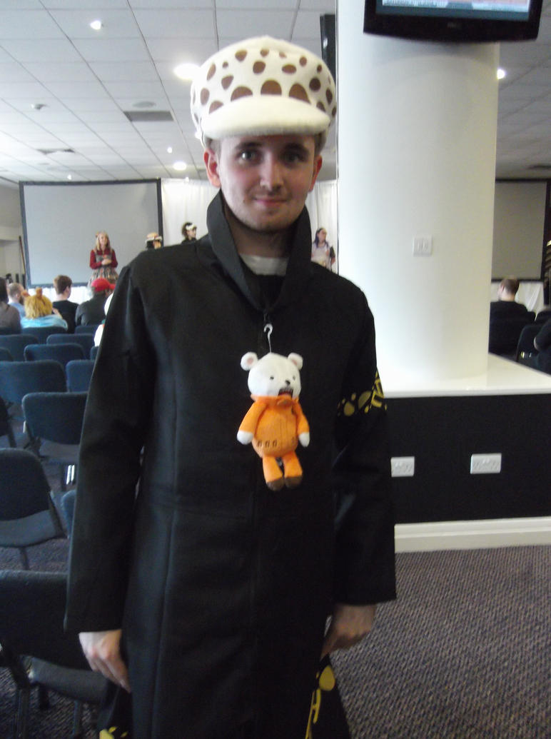 Trafalgar law cosplay-Sunnycon 2017 by Fran48