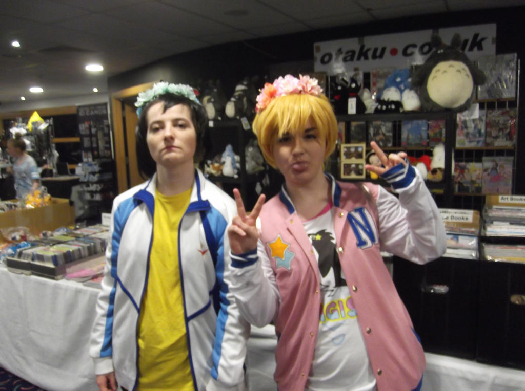 Haru and Nagisa cosplayers-Sunnycon 2017 by Fran48