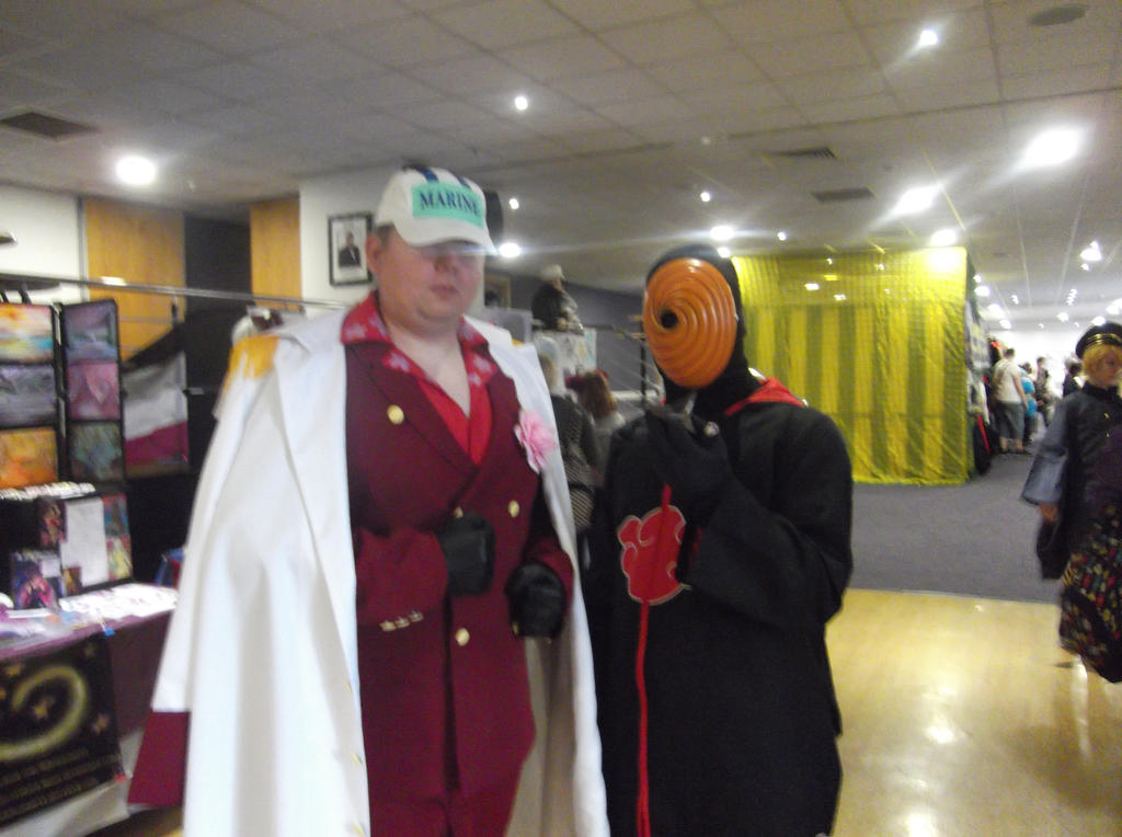 Akainu and Tobi Cosplayers-Sunnycon 2017 by Fran48