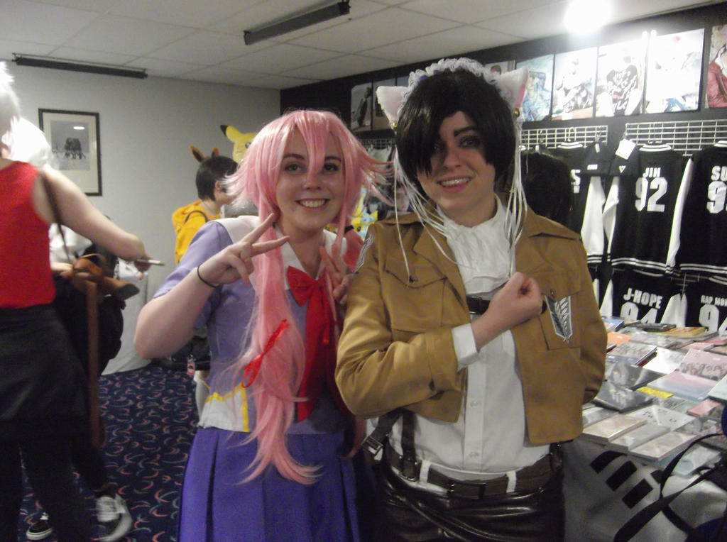 Yuno and Levi cosplayers-Sunnycon 2017 by Fran48