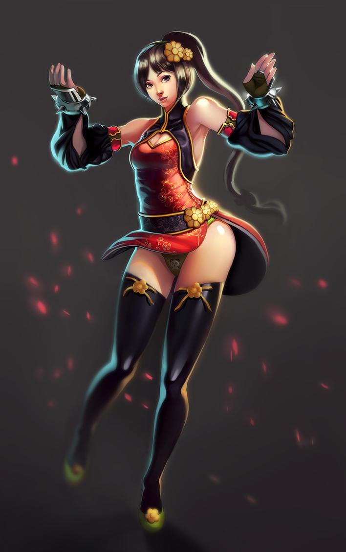Kung Fu Girl by velsen